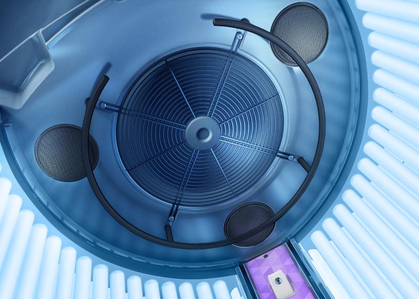 solarium en vitoria y logroño luxura v8 clinicas 21 detalle techo